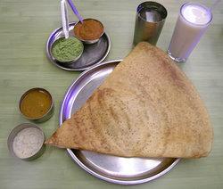 南インド料理:ドサ